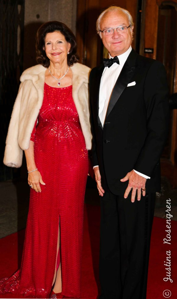 Queen Silvia and King Karl Gustaf of Sweden