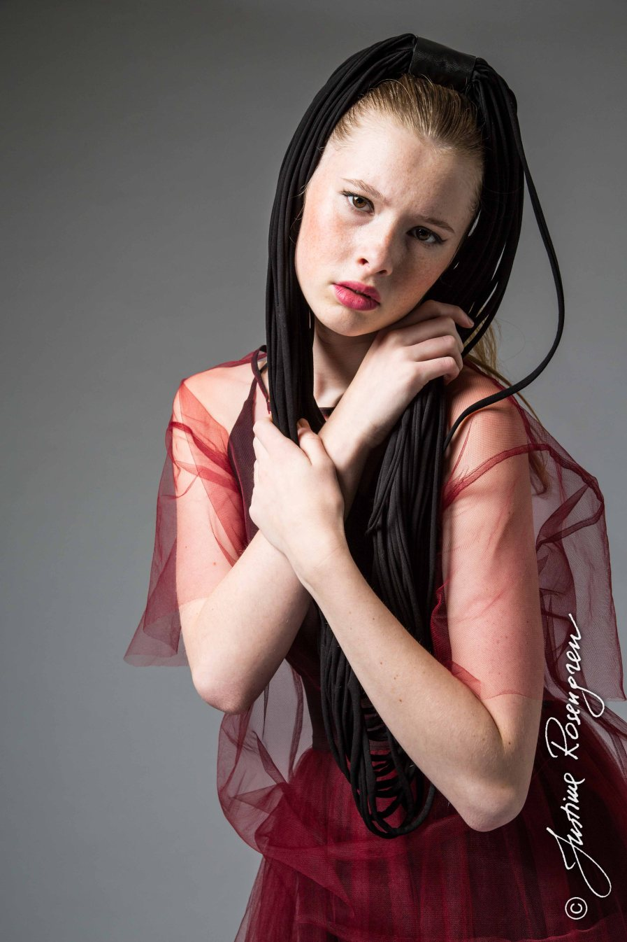 Elin K-Stockholmsgruppen rött tyll-4