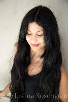 Bahar Pars ( Parvaneh in the movie), portrait from film presentation A MAN CALLED OVE - En man som heter Ove-. Filmhuset, Stockholm August 2015
