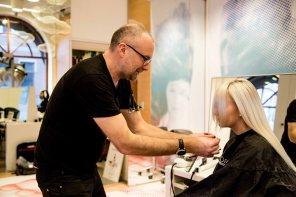 L´ORÉAL preps for event - seminar in Umeå on the 18 th of November, 2017. Hair cut by Simon Raby , hair colour by Elias Antonios from (L´ORÉAL proffesional)